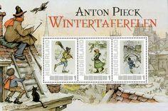 Op 2 mei 1978 werd een postzegel van 55 cent uitgegeven als Europazegel. De afbeelding was ontleend aan een tekening vervaardigd door Anton Pieck. Een wens van vele bewonderaars van het werk van An…