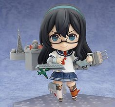 Kantai Collection: Ooyodo Nendoroid Action Figure includes Expressions x 3 (Standard Glace, Confident, Combat), Sea Chart, Quill Pen, File, Large Ship Parts