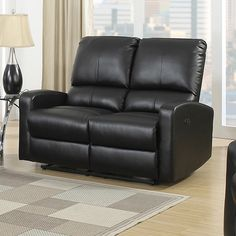 Relax and enjoy the big game or your favorite movie with friends and family on this comfortable Power Bonded Leather Loveseat. You can bring comfort to a whole new level.