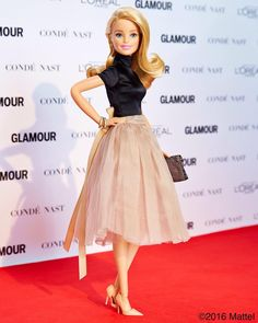It's time to celebrate! All of the Glamour Women of the Year deserve enormous recognition! Comment below with who inspires you most. #GlamourWOTY #barbie #barbiestyle