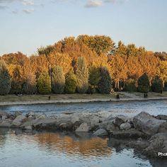 Our beautiful river #zayanderood , near sunset.#aksiine #sunset_vision