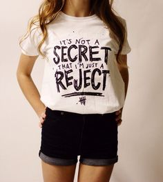White Rejects shirt © Design by Euclea Tan by MXLoutfitters