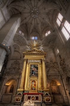 Fabulous Picture of the Burgos Cathedral - Spain