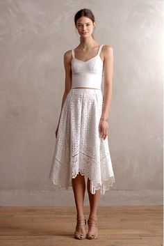 Gemma Embroidered Skirt - anthropologie.com #anthrofave