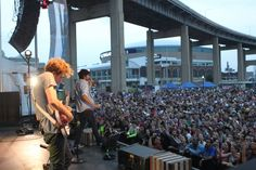 Young the Giant at Thursday at the Harbor