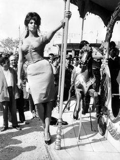 "Sophia Loren en ""Boccaccio 70″, 1962"