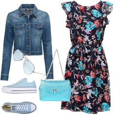 Designer Clothes, Shoes & Bags for Women Summer Work Outfits, Spring Outfits, Casual Outfits, Fashion Outfits, Womens Fashion, Pretty Outfits, Cute Outfits, Ladies Dress Design, Polyvore Outfits