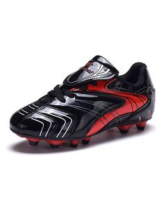 Black & Red Cleat