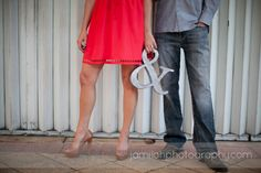 modern engagement session; downtown engagement session