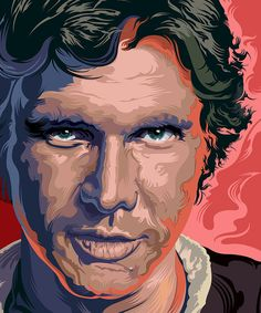 Star Wars - Han Solo by Garth Glazier *