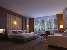 hotel interior design - Hotel room design, Hotels and Luxury hotel rooms on Pinterest