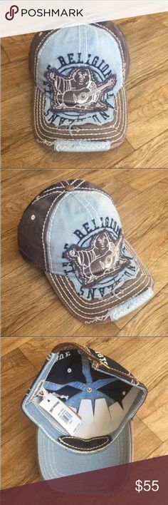 New True Religion Unisex Navy Hat Cap New True Religion Unisex Hat Color: Navy Size: Adjustable True Religion Accessories Hats