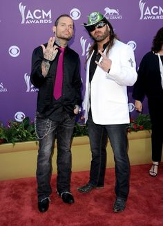 Jeff Hardy and James Storm