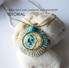 Pinterest Craft Ideas - clay | Creative Project - Make Unique Polymer Clay Pendants | Craft Ideas
