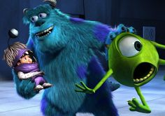 monsters ink sulley and mike | Sulley and Mike have to find a way to get Boo home in Monsters, Inc.
