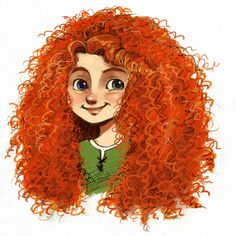 Merida'color by courtneygodbey.deviantart.com on @deviantART
