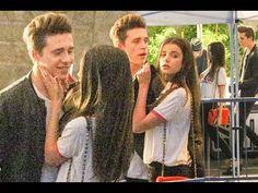 Brooklyn Beckham breaks teen's hearts everywhere as he cosies up to new girlfriend Sonia Ben Ammar