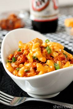 Sloppy Joe mac and cheese is the perfect mashup of two comfort foods in one