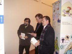 2009-02-02 DD.HH. en Cáceres. Inauguración oficial con medios de comunicación y autoridades