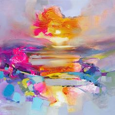 Colour Combustion limited edition print by Scott Naismith £125