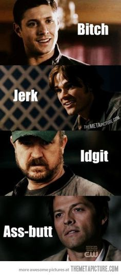 Supernatural Insults