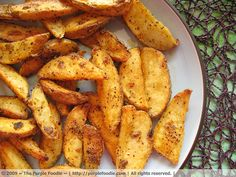 While I love my mom's potato wedges, I think these might be almost as good