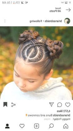 Today we are going to talk about those gorgeous braid styles. I will show you the best and trendy hair braid styles with some video tutorials. Kids Braided Hairstyles, Box Braids Hairstyles, Little Girl Hairstyles, Trendy Hairstyles, Teenage Hairstyles, Hair Updo, Short Haircuts, Hairstyles Haircuts, Hairstyles Videos