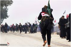 #ARBAEEN WALK a story only the lovers of Imam Al HUSSAIN A.S WILL UNDERSTAND Who Is Hussain, Imam Hussain, Muharram, Kanken Backpack, Walking, Backpacks, Lovers, Bags, Fashion