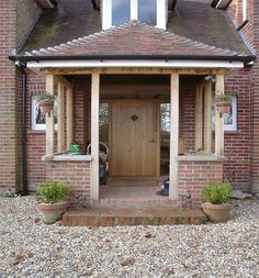 Building open porch but should I go with brick pil... - #Brick #Building #open #pil #Porch #porches