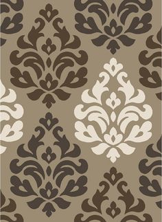 Pinned from RugLots - Concord Global // Concord Global Casa Victoria Beige Transitional Damask Rug (8541)