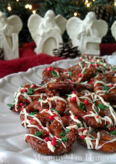 Sugared Pretzels by Rachelle @ Mommy? I'm Hungry!, via Flickr