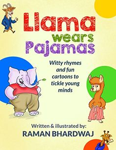 FREE on Kindle:  March 23 – 26  A new kind of picture book for kids which has whimsical short rhymes and fun cartoons. The book intends to tickle and stir the young minds by showing examples of rhyming words using names of animals rhyming with human clothings and activities.