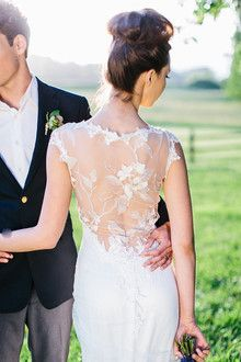 Wedding Dresses | Browse Wedding & Party Ideas | 100 Layer CakeThis back detail is amazing!