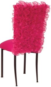 Isabella Fuchsia Chameleon Chair Back