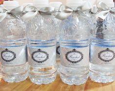 Rótulo para Água personalizada