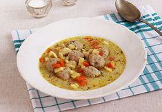 Egyszerű, de nagyon finom, laktató leves.