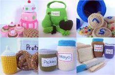 crochet foods