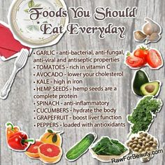 Foods you should eat everyday. | The healthiest foods. | thefitchen.com #TheFitchen
