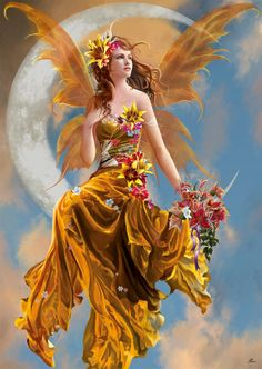 Enchanting Mythical Magical Faerie Angel Nymph Sprite  <3<3