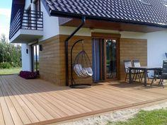 House Cladding, Facade House, Small Cottage Homes, Design Case, New Homes, House Design, Patio, Interior Design, Outdoor Decor