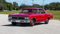 1966 Chevrolet Chevelle SS presented as Lot F196 at Kissimmee, FL