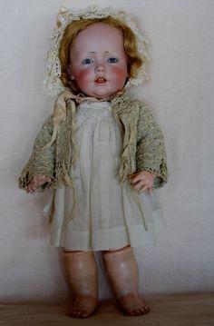 Incredible Antique Kestner Hilda Toddler 237 Cabinet Size | eBay