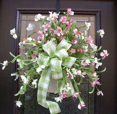 Mothers Day Wreath, Spring Wreaths, Spring Wall Arrangement, Floral Arrangement, $110.00