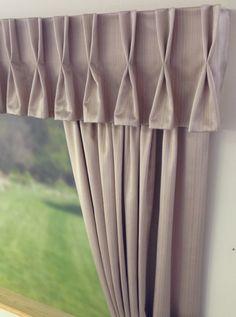 Duo Pleat Curtain Valance