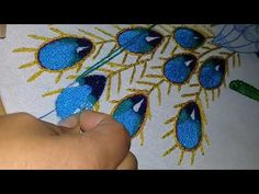 Hand Embroidery Stitches, Embroidery Designs, Point Lace, Peacock, Projects To Try, Elsa, Clothes For Women, Sewing, Crochet
