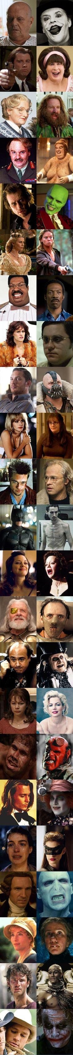 Contrasting Roles, actors.......wow.....interesting.....