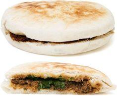 $2 Pork Pancake 308cals;w/wheat,pork http://www.yelp.com/biz/spicy-village-new-york #tabmymeal