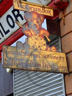 old glasgow shop front by PatrickFullerton on Etsy, £10.00
