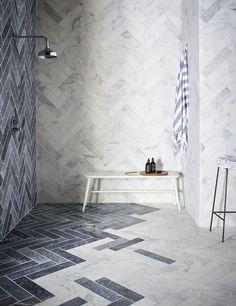Calacatta Tumbled Marble Tiles & Stone   Mandarin Stone Tiles & Flooring