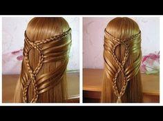 ✨ Tuto coiffure simple: belle coiffure facile a faire cheveux long ✨ Coiffure pour fille - YouTube